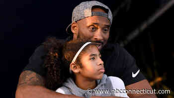 Kobe Bryant & Daughter Gianna Honored as UConn Takes on Team USA