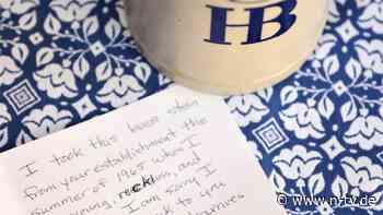 Reue nach 55 Jahren: US-Seniorin gibt gestohlenen Maßkrug zurück