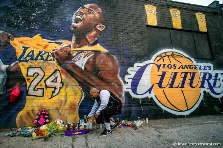 Kobe Bryant Memorials Pop Up All Over Southern California, Fans Flock To Staples Center