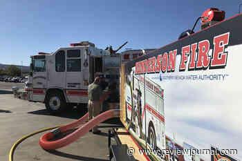 Las Vegas Valley fire departments get water-conserving simulators