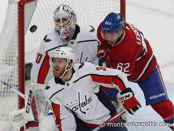 Canadiens waste their chances in 4-2 loss to Capitals