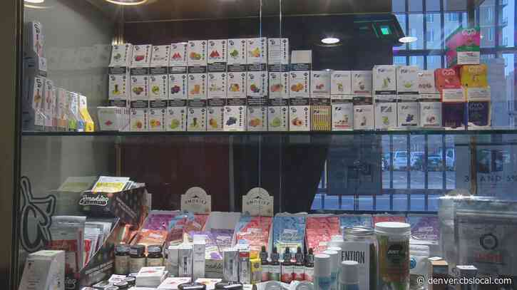 'People Are Stocking Up': Denver Smoke Shop Lowers Prices Ahead Of FDA Ban