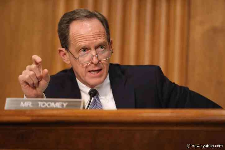 Report: GOP Sen. Toomey proposing impeachment trial witness deal