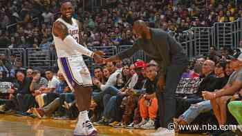 LeBron James comments on the passing of Kobe Bryant