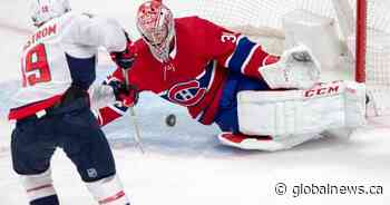 Vrana, Capitals double up Canadiens 4-2
