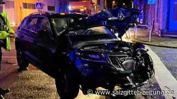 Vier Verletzte, darunter zwei Kinder, bei Unfall in Helmstedt