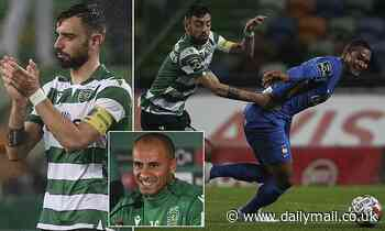 Sporting Lisbon boss Jorge Silas wants to keep hold of Manchester United target Bruno Fernandes