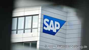 Softwarehersteller: SAP legt im Tagesgeschäft zu - Gewinneinbruch wegen Umbau