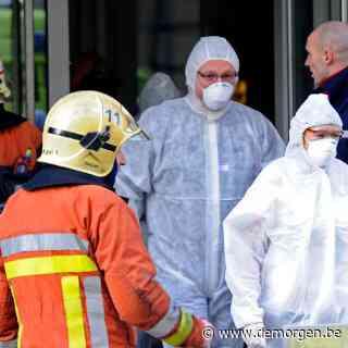 Wit poeder aangetroffen in omslag in stadhuis van Charleroi, Civiele Bescherming ter plaatse