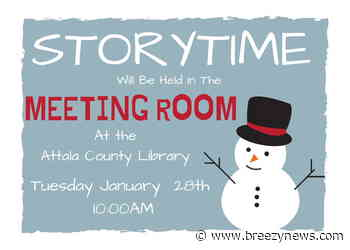 Happening today: Story Time at the Attala County Library