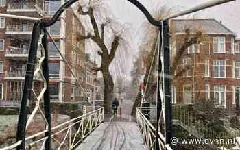 Wááát? Het sneeuwt in Groningen en Drenthe!