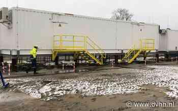Mobiele stations Enexis geven elektriciteitsnet in Groningen en Drenthe lucht