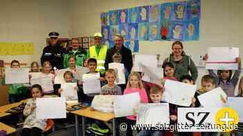 Wolfenbüttels Grundschüler malen sicheren Schulweg