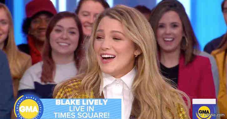 Blake Lively Says Having Three Kids Was 'Like Going from Two to 3,000': 'We're Outnumbered'