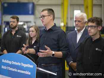 Ontario announces $19-million program to bolster skilled trades