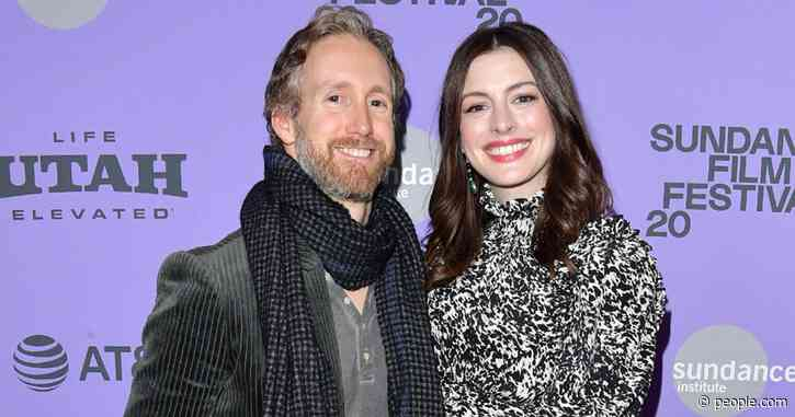 Anne Hathaway Steps Out with Husband Adam Shulman for Date Night at Sundance Film Festival