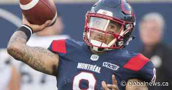 Vernon Adams Jr. signs contract extension with Montreal Alouettes