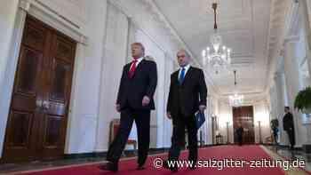 Nahost-Plan: Trump stellt Palästinensern eigenen Staat in Aussicht