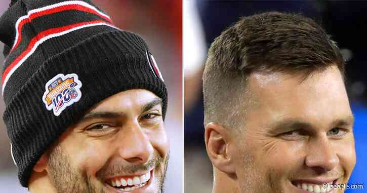 49ers Quarterback Jimmy Garoppolo Says Tom Brady Texted Him 'Good Luck' Ahead of the Super Bowl