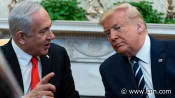 Trump unveils Middle East plan that caters to Israel