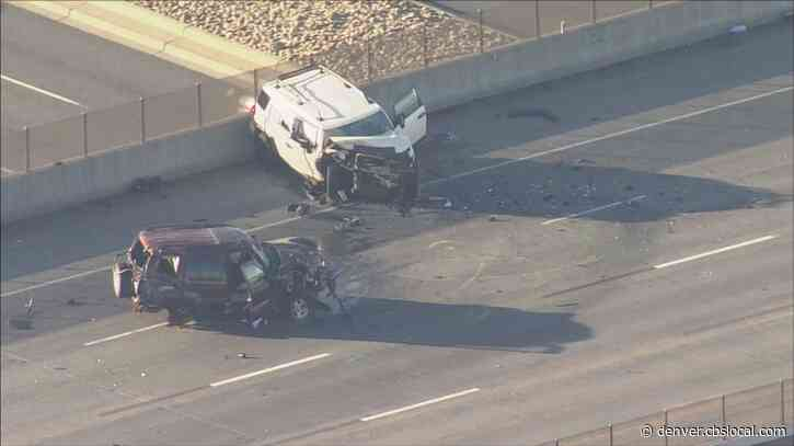 Wrong-Way Crash Shuts Down Southbound I-225 From 6th Avenue To Iliff