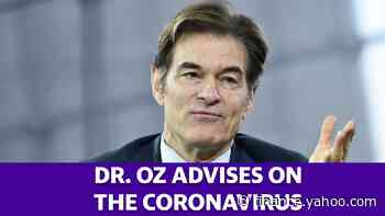 Dr. Oz advises on the coronavirus outbreak