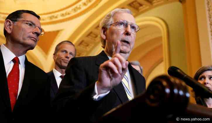 McConnell Tells Caucus They Lack the Votes to Block Impeachment Witnesses