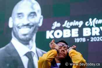 Tributes build outside arena known as House that Kobe Built