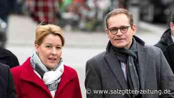 Medienberichte: Giffey soll Müller als SPD-Vorsitzende in Berlin ablösen