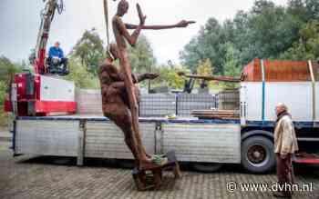 4 meter hoog beeld van Jan Ketelaar kopen? Het staat voor 100.000 euro op Marktplaats