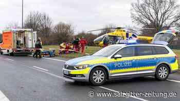 Hubschraubereinsatz in Fredenberg – Fußgänger verletzt
