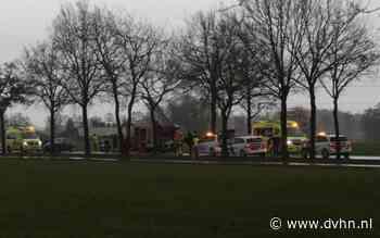 Automobilist komt om het leven bij ongeval op Nijewei (N392) bij Gorredijk