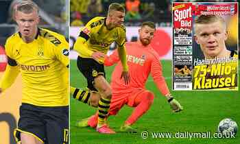 Erling Haaland 'can leave Dortmund for £63million next summer' - re-opening door for Man United