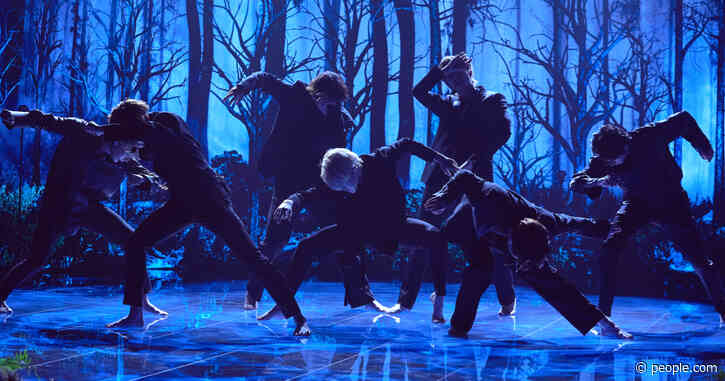 K-Pop Group BTS Debuts New 'Black Swan' Single While Barefoot on Late, Late Show