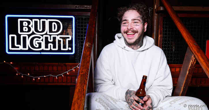 Watch Post Malone Star in Two Bud Light Super Bowl Spots: 'I Never Thought I'd Be in a Commercial'