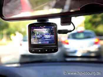 """Küps: """"Dash-Cam"""" filmt den Unfallfahrer"""