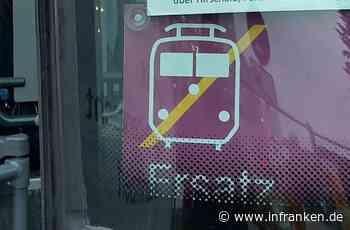 ICE-Trassensperrung in Franken: Hier fährt eine Woche lang der Schienenersatzverkehr