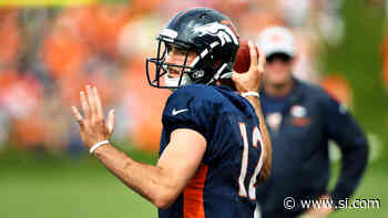 Paxton Lynch Demoted, Chad Kelly Promoted to No. 2 QB in Denver - Sports Illustrated