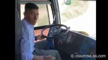 Nairo cambia la bici por un bus: Conductor elegido en Cómbita - AS Colombia