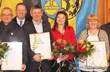 Stadt Weismain ehrt verdiente Mitbürger für ihr großes Engagement - inFranken.de