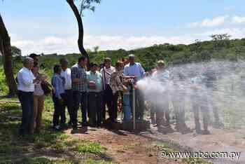 Habilitan sistema de agua potable en Yataity del Norte - Nacionales - ABC Color