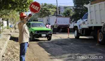 En 6 meses, estaría lista la vía principal de El Rodeo en Turbaco, Bolívar - Caracol Radio