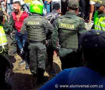 Pillados en flagrancia dos presuntos ladrones en Turbaco   EL UNIVERSAL - Cartagena - El Universal - Colombia