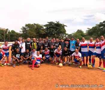 Juego de integración en el municipio de Turbaco - El Universal - Colombia