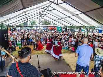 Blanquillo celebró su aniversario número 80 con un concurrido festival y desfile de caballería gaucha - El Acontecer Diario