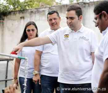 Gobernador de Bolívar inspecciona obras en San Juan y San Jacinto - El Universal - Colombia