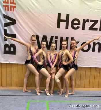 Rhythmische Sportgymnastik: Deutsche Meisterschaften Gruppen Meisterklasse der Rhythmischen Sportgymnastik in Nürnberg - kraichgau.news