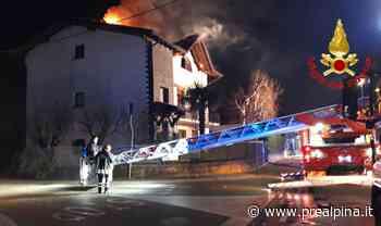 Venegono Superiore: fiamme in una villa - La Prealpina