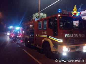 Incendio al tetto di un'abitazione a Venegono Superiore: intervengono i vigili del fuoco - VareseNoi.it