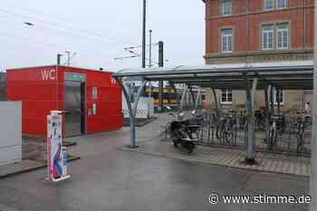 Das Stille Örtchen am Bahnhof in Schwaigern steht - Heilbronner Stimme